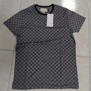 GUCCI MEN GRAY T-SHIRT